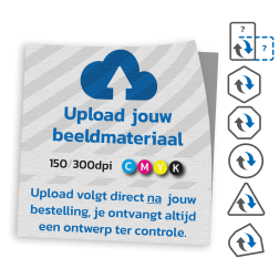 Heavy duty vloersticker - anti slip - met eigen ontwerp vloersticker, applied, media, outdoor, floor, graphics