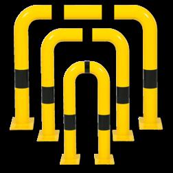 Beschermbeugel Ø76mm, verwijderbare rechte uitvoering Aanrijdbeveiliging, Aanrijdbeugel, Beugel, Aanrijding, Beveiliging, Ram, Rambeugel, Aanrijdbescherming, Vangrail