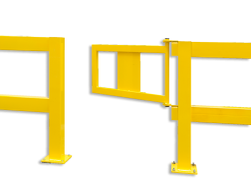 Balustrade Deur 835x475mm Black Bull of S-line klapdeur, hekwerk, afscheiding, aanrijbeveiliging, aanrijdbeveiliging