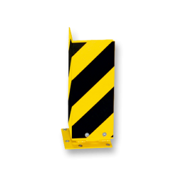 Aanrijdbeveiliging, Hoekprofiel 160x160x5mm, Verende voet Aanrijdbeveiliging, Aanrijdbeugel, Beugel, Aanrijding, Beveiliging, Ram, Rambeugel, Aanrijdbescherming, Vangrail