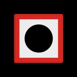 Scheepvaartbord Verplichting een geluidssein te geven. Scheepvaartbord BPR B. 7 - Verplicht een geluidssein te geven B. 7 water, B7, geluid, toeteren, hoorn, gebodstekens, gebodsborden, waterweg, waterwegen, scheepvaarttekens, verkeerstekens, geluidsignaal