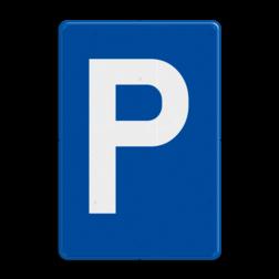 Verkeersbord E9a: Parkeren toegelaten Verkeersbord België E09a - Parkeren toegelaten E09a parkeerbord
