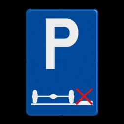 Verkeersbord E9g: Verplicht parkeren op de rijbaan. Verkeersbord België E09g - Verplicht parkeren op de rijbaan E09g parkeerborden, rijbaan, weg,
