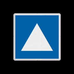 Scheepvaartbord Ligplaatsen voor niet-kegelvoerende duwvaart. Ligplaatsen voor het afmeren of ankeren van duwvaart, die niet verplicht is door de aard van de lading één of meer blauwe kegels te voeren. Scheepvaartbord BPR E. 5. 4 - Ligplaatsen voor niet-kegelvoerende duwvaart E. 5. 4 E5. E5.4, water, niet kegel voerende duwvaart, aanwijzingstekens, aanwijzingsborden, waterweg, waterwegen, scheepvaarttekens, verkeerstekens,