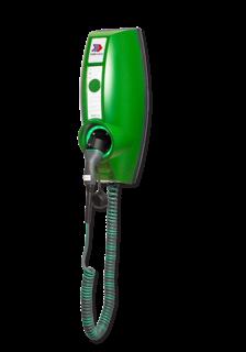 EVBOX Businessline 230V BASIC met vaste spiraalkabel type 2 Laadstation, oplaadpaal, laadpaal, EV-Box, EVBox, oplader, elektrische auto, thuis, aan huis, laadpunt, oplaadpunt, laadsessie, registreren, registratie, autolaadpunt, laadpasje