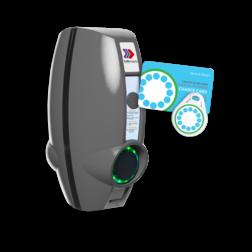 EVBOX Businessline 230V SMART-DUO met laadpas-systeem Laadstation, oplaadpaal, laadpaal, EV-Box, EVBox, oplader, elektrische auto, thuis, aan huis, laadpunt, oplaadpunt, laadsessie, registreren, registratie, autolaadpunt, laadpasje