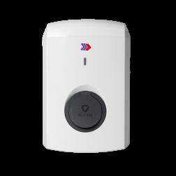 Eve Single S-Line met socket / 3,7 of 7,4 kW (1 fase) Laadstation, oplaadpaal, laadpaal, Alfen, ICU, Singel, S-line, oplader, elektrische auto, thuis, aan huis, laadpunt, oplaadpunt, laadsessie, registreren, registratie, autolaadpunt, laadpasje, RFID, type 1, type 2, back, office, laadstation, load, balancing, plug, charge, socket