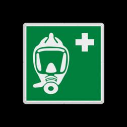 Reddingsbord E028 - Ademhalingsapparaat voor noodevacuatie Reddingsbord E028 - Ademhalingsapparaat voor noodevacuatie Zuurstof, beademing, benauwd, apparaat, masker, vluchtroutebord, reddingsmiddelbord, vluchtroutebord, reddingsmiddelbord, evacuatie, evacuatiebord, veiligheidspictogram, veiligheidsbord, Nooduitgang pictogrammen, Vluchtrouteaanduiding, Verzamelplaats pictogram, Reddingspictogram, nooduitgang symbool, teken, icoon, symbolen, reddingsborden, bhv bord