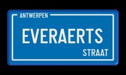 Straatnaambord België 400x200 Straatnaambord, België, Belgisch, Belgische, Naambord, Antwerpen, Brussel