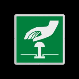 Reddingsbord E020 - Noodstop Reddingsbord E020 - Noodstop Noodknop, nood, knop, alarmknop, vluchtroutebord, reddingsmiddelbord, vluchtroutebord, reddingsmiddelbord, evacuatie, evacuatiebord, veiligheidspictogram, veiligheidsbord, Nooduitgang pictogrammen, Vluchtrouteaanduiding, Verzamelplaats pictogram, Reddingspictogram, nooduitgang symbool, teken, icoon, symbolen, reddingsborden, bhv bord