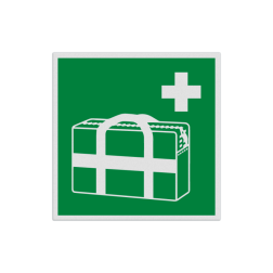Product E026 - Medische noodtas Pictogram E026 - Medische noodtas EHBO, verband, tas, vluchtroutebord, reddingsmiddelbord, evacuatie, evacuatiebord, veiligheidspictogram, veiligheidsbord, Nooduitgang pictogrammen, Vluchtrouteaanduiding, Verzamelplaats pictogram, Reddingspictogram, nooduitgang symbool, teken, icoon, symbolen, reddingsborden, bhv bord