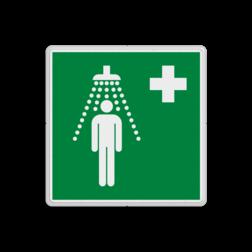 Reddingsbord E012 - Nooddouche Reddingsbord E012 - Nooddouche Nood, douche, water, vluchtroutebord, reddingsmiddelbord, vluchtroutebord, reddingsmiddelbord, evacuatie, evacuatiebord, veiligheidspictogram, veiligheidsbord, Nooduitgang pictogrammen, Vluchtrouteaanduiding, Verzamelplaats pictogram, Reddingspictogram, nooduitgang symbool, teken, icoon, symbolen, reddingsborden, bhv bord