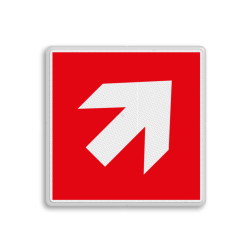 Product F000 - trap op richting brandbestrijdingsmiddel Brand bord F000 - voor trap op richting brandbestrijdingsmiddel Brand, trap, locatie, vuur, blussen, vluchten, brandkraan, bluswaterput, brandput, trap af, rechts, links, Brandbestrijdingsteken, brandbestrijdingspicto
