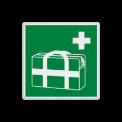Reddingsbord E026 - Medische noodtas Reddingsbord E026 - Medische noodtas EHBO, verband, tas, vluchtroutebord, reddingsmiddelbord, vluchtroutebord, reddingsmiddelbord, evacuatie, evacuatiebord, veiligheidspictogram, veiligheidsbord, Nooduitgang pictogrammen, Vluchtrouteaanduiding, Verzamelplaats pictogram, Reddingspictogram, nooduitgang symbool, teken, icoon, symbolen, reddingsborden, bhv bord