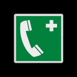 Reddingsbord E004 - Noodtelefoon Reddingsbord E004 - Noodtelefoon Nood, bellen, telefoon, alarm, alarmnummer, vluchtroutebord, reddingsmiddelbord, evacuatie, evacuatiebord, veiligheidspictogram, veiligheidsbord, Nooduitgang pictogrammen, Vluchtrouteaanduiding, Verzamelplaats pictogram, Reddingspictogram, nooduitgang symbool, teken, icoon, symbolen, reddingsborden, bhv bord