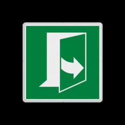 Product E057 - Deur opent door links te trekken Vluchtroute bordje E057 - Deur opent door links te trekken links, schakelen, tegen wijzerzin draaien, omdraaien, vluchtroutebord, reddingsmiddelbord, evacuatie, vluchtroutebord, reddingsmiddelbord, evacuatie, evacuatiebord, veiligheidspictogram, veiligheidsbord, Nooduitgang pictogrammen, Vluchtrouteaanduiding, Verzamelplaats pictogram, Reddingspictogram, nooduitgang symbool, teken, icoon, symbolen, reddingsborden, bhv bord