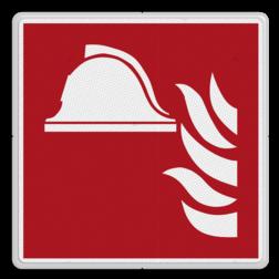 Brandweer - Brandbestrijdingsmiddelen - F004 Brand, trap, locatie, vuur, blussen, vluchten, blusmiddel, brandblusser