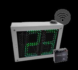 Snelheidsdisplay LED MHP50 + lichtmast-systeem
