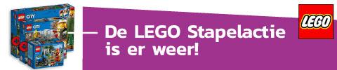LEGO actie - spaar voor gratis LEGO