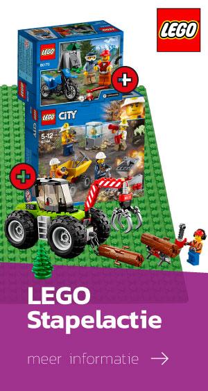 Stapelactie GRATIS LEGO