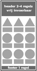 4 regels + 9x picto-P + 1 regel