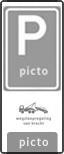 Verkeersteken 2:3 - Pictogram - Pictogram