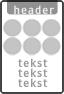 Koptekst + 6x Verkeersteken + 7 tekstregels