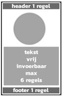 1 picto + tekstblok + banner boven/onder