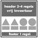4 regels + 4x picto-P + 1 regel